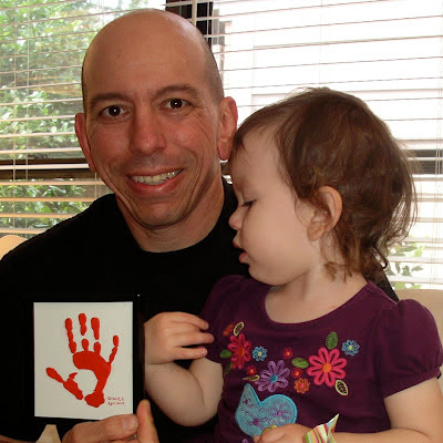 toddler handprint