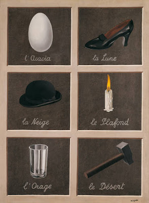 René Magritte - The Key to Dreams, 1930
