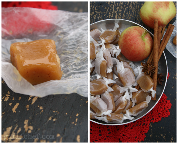 Apple Cider 5-Spice Caramels {#SundaySupper: Fall Foods} | www.girlichef.com
