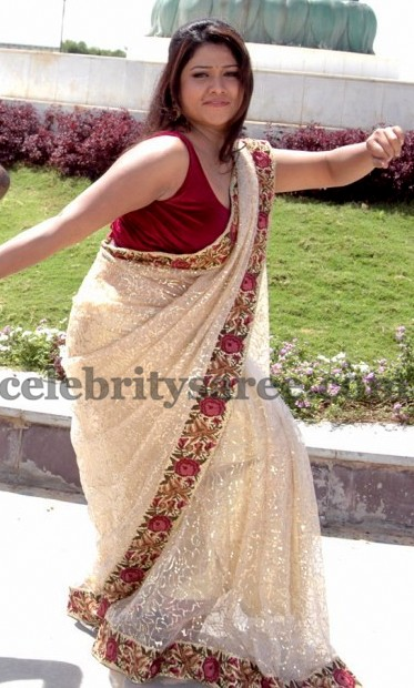 Jyothi Back Neck Blouse