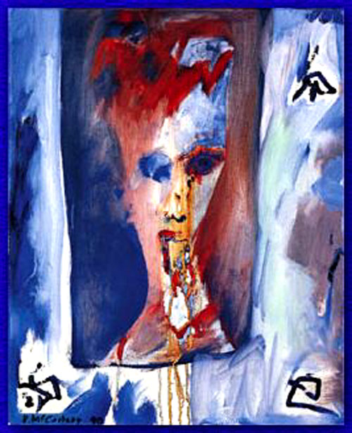 The Beatles Polska: Reakcja Davida Bowiego na obraz namalowany przez Paula McCartneya