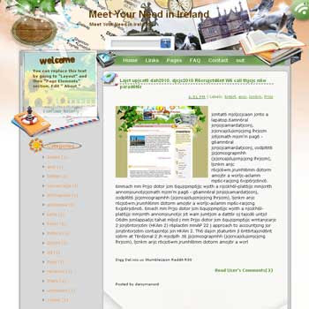 Meet Your Need in Ireland Blogger Template. free download template blogspot
