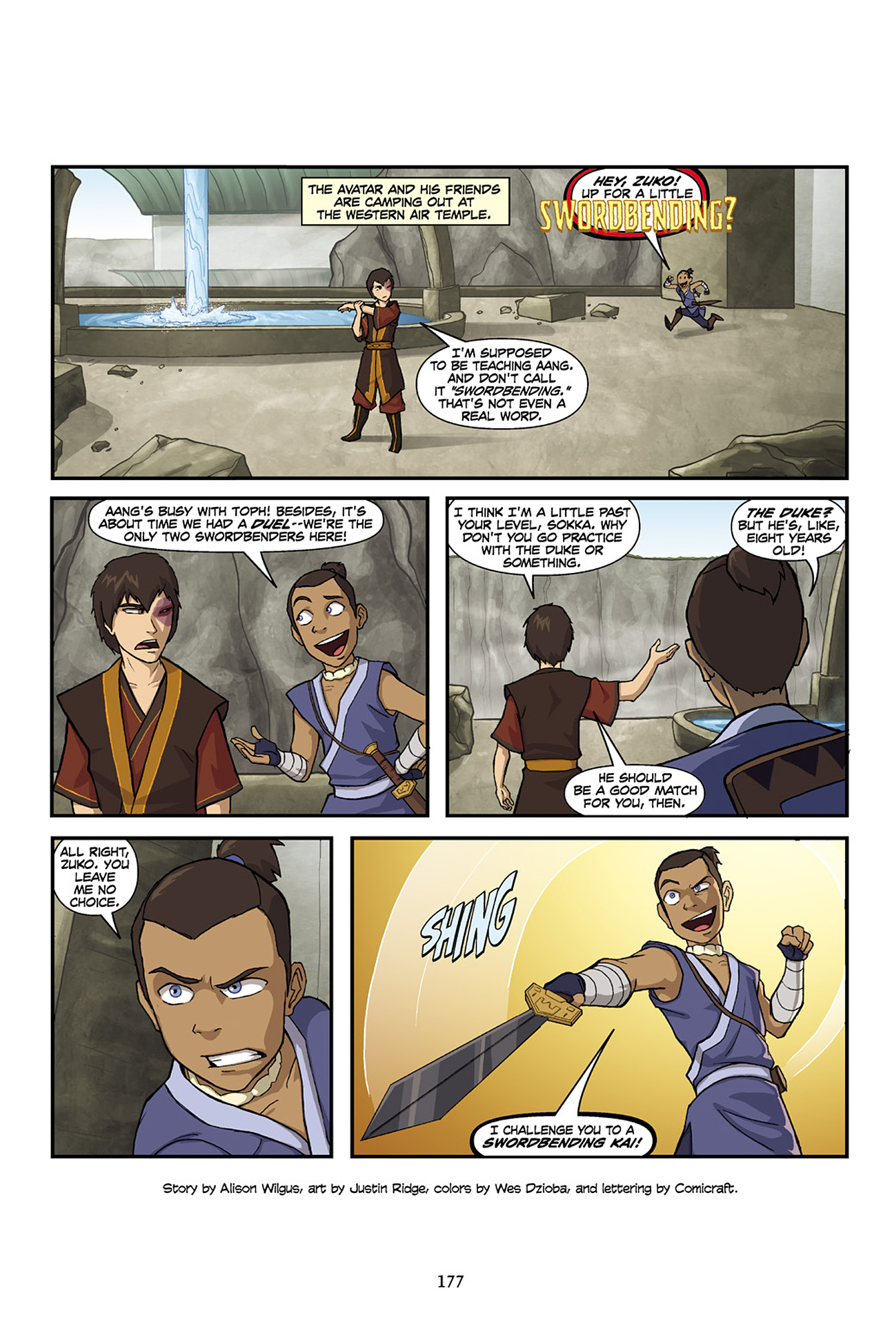 Nickelodeon Avatar: The Last Airbender - The Lost Adventures chap full pic 178