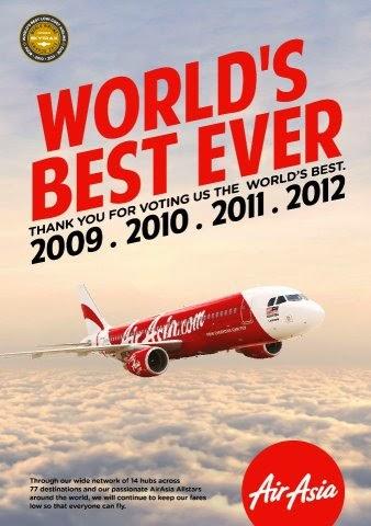 Low Cost Airlines Air Asia Oleh Darwis Tere Liye