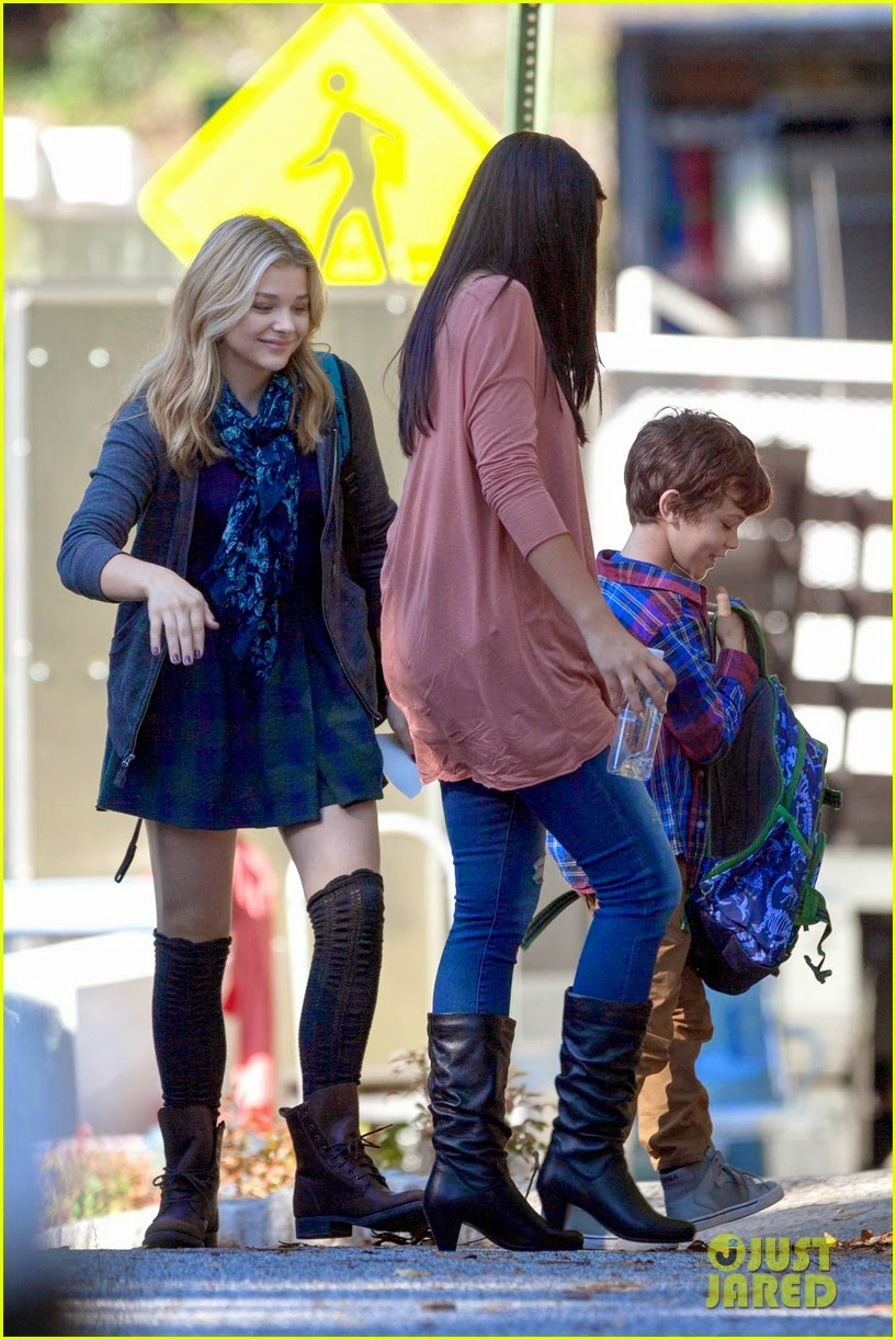 chloe grace moretz zackary arthur 5th wave movie behind the scenes