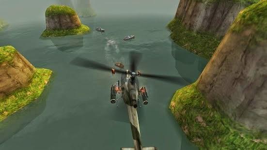 GUNSHIP BATTLE Helicopter 3D 1.0.3 Full Unlimited Money