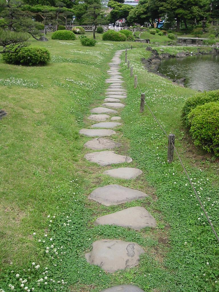 Japanese zen garden zen path for Japanese garden path