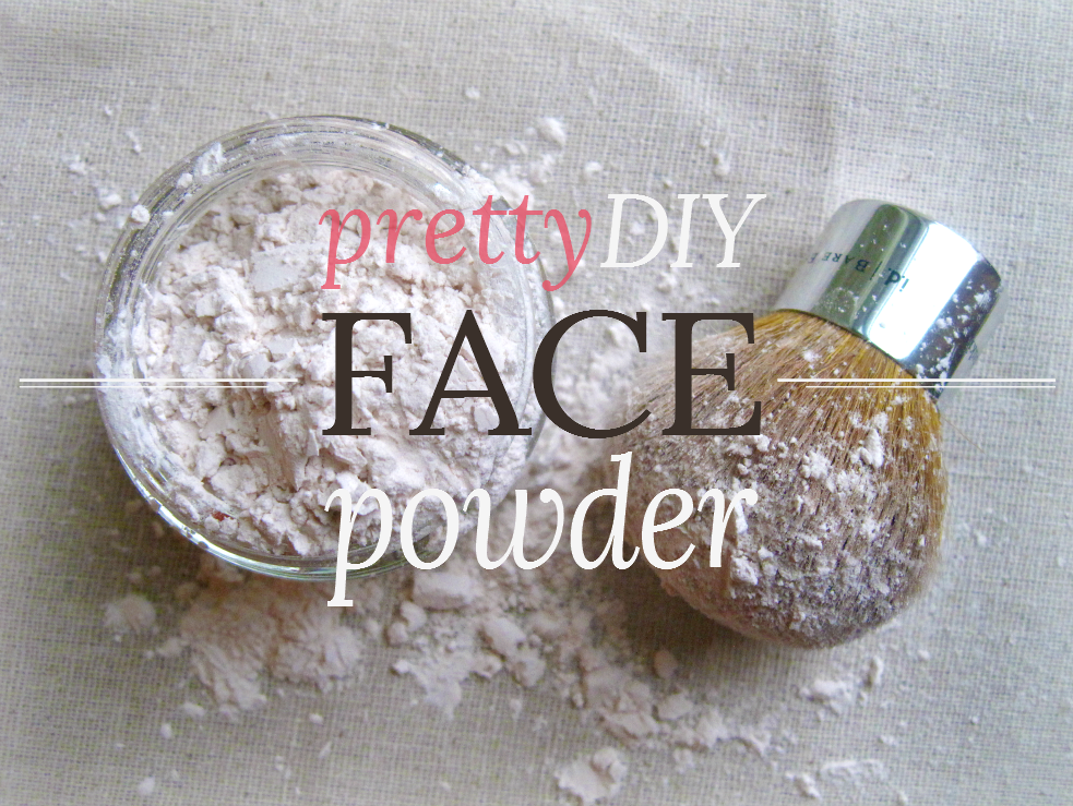 Domesticity and doctrine pretty diy face powder - Ingenious uses for cornstarch ...