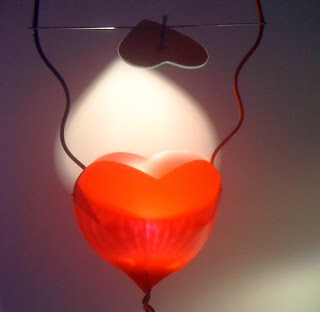 One from the heart By Ingo Maurer Lamp