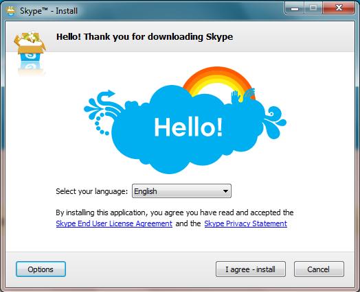 برنامج skype 2015 للمحادثات الصوتية والكتابية