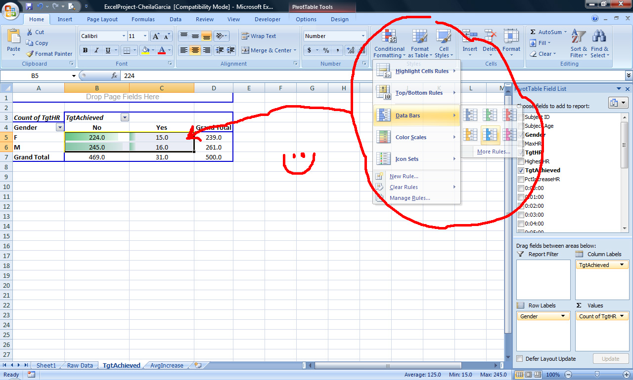 Tutorial 2 pivot tables in microsoft excel tutorial 2 pivot then once the pivot table is arranged it is possible to create pivot charts with graphical snapshots of the summary baditri Choice Image