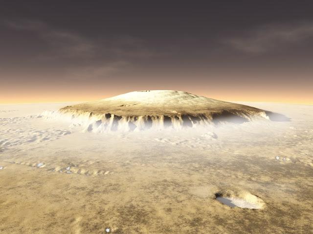Monte Olimpo - Marte