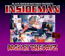 【 INSIDEMAN / BACK IN THE DAYZ (G-Luv Classics Vol.1)】
