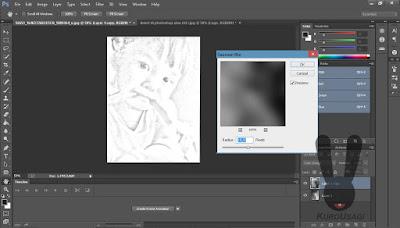 Cara Membuat Sketsa Pensil Dengan Mudah Di Photoshop