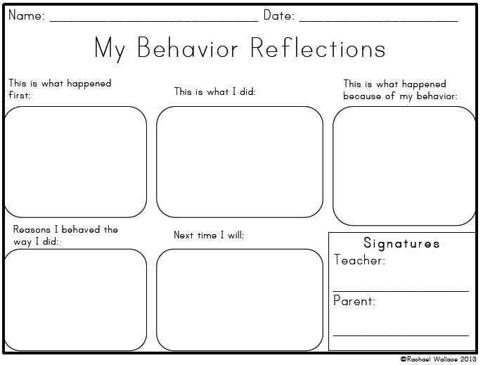 Behavior Chart: Tips u0026 Tricks - Mindful Rambles