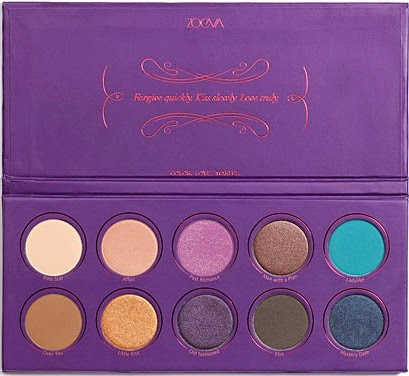 Zoeva - Love Is A Story Eyeshadow Palette