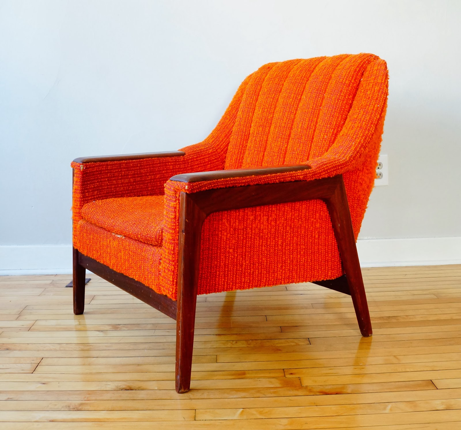 str8mcm mid century modern lounge chair