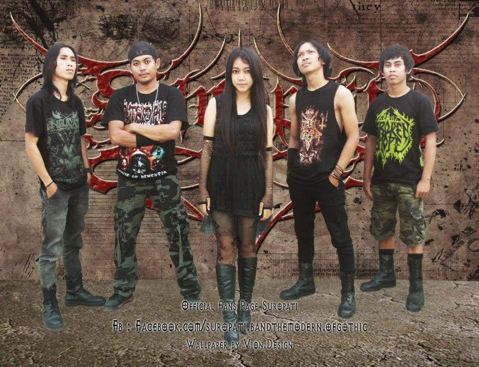 Suropati Band Modern Gothic Metal Cikande Serang Banten Foto Vocalis Personil Logo Wallpaper