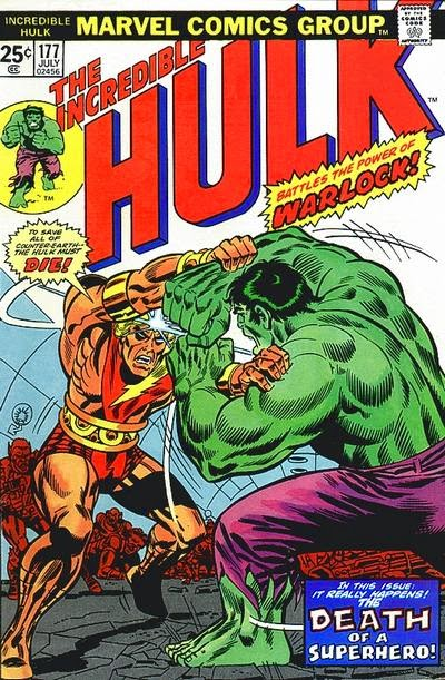 Hulk #177, Warlock