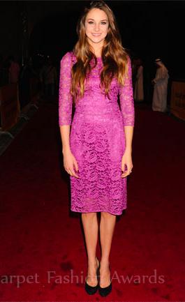 Dolce & Gabbana 3/4 sleeve lace dress
