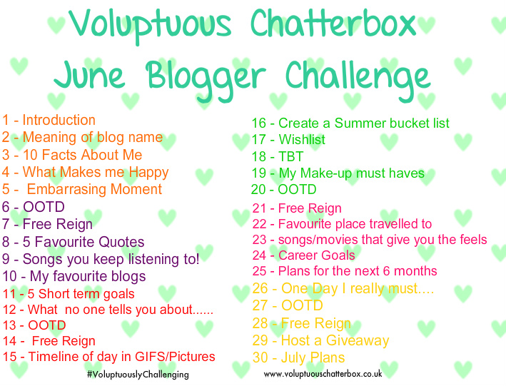 what makes me happy voluptuous chatterbox