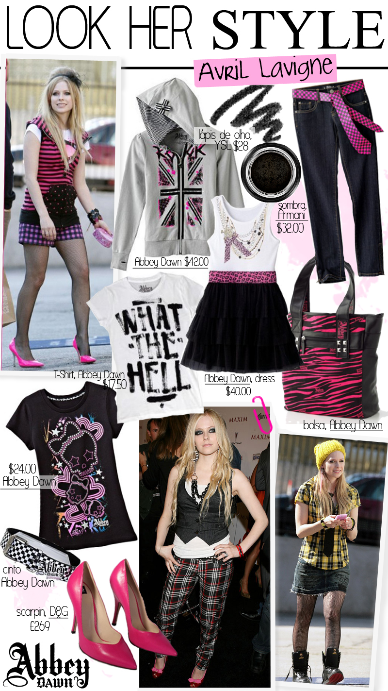 Look Her Style: Avril Lavigne