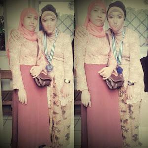 with mamah :*