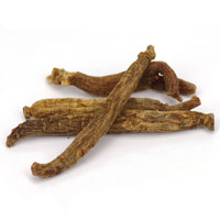 image of dried root abundantly available in China of ginseng used as herbal treatment of erectile dysfunction
