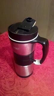 Chris Leyerle's coffee travel mug