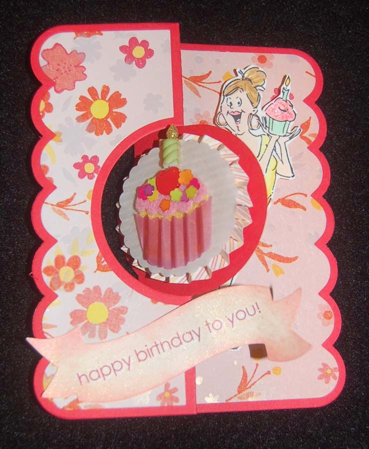 Lynn S Craft Blog Cupcake Lover S B Day Card