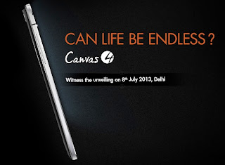 MicroMax Canvas 4 Technical Specifications