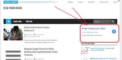 Iklan Mirif Google Adsense
