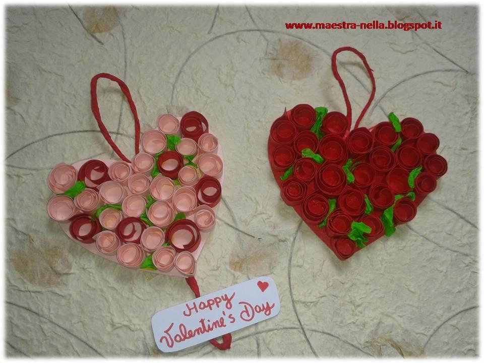 Maestra nella san valentino cuori for Lavoretti accoglienza infanzia