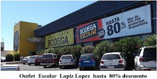 OUTLETS LÁPIZ LÓPEZ en Santiago