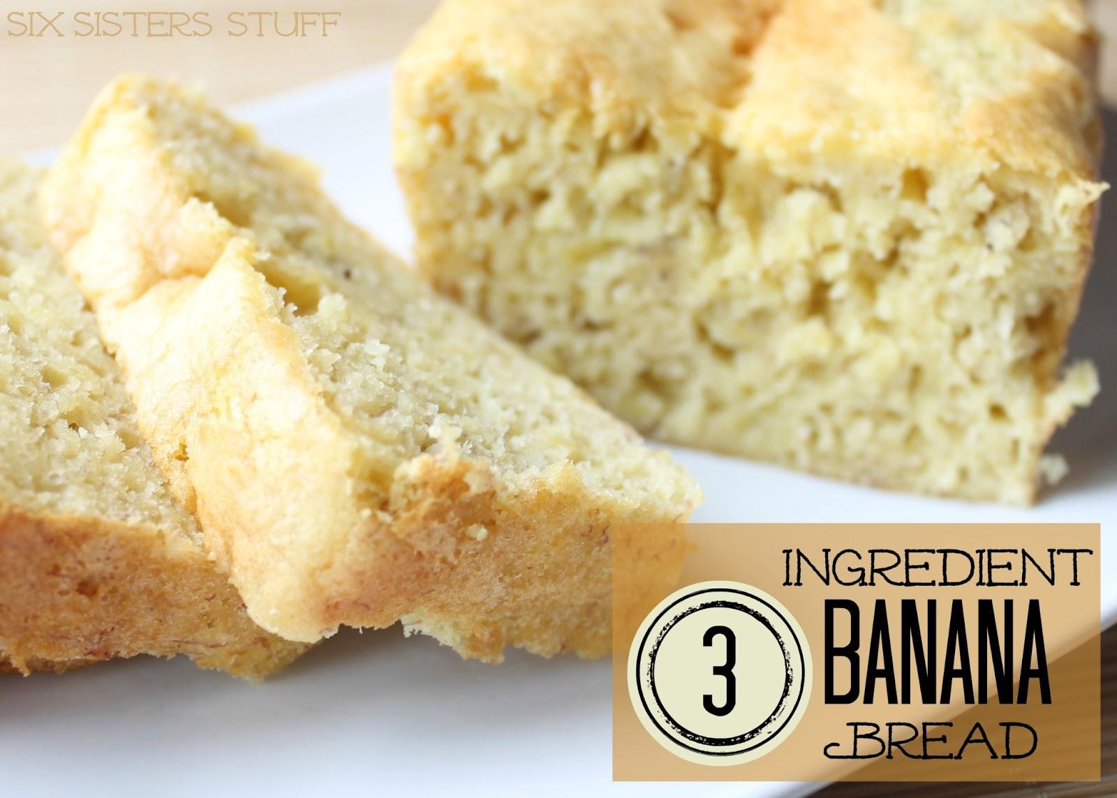 Banana bread recipe yellow cake mix