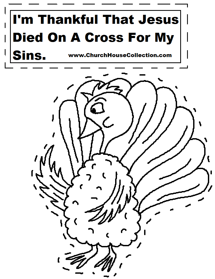 Church house collection blog november 2014 for Thanksgiving sunday school coloring pages