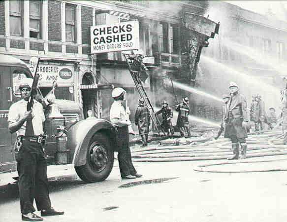 Tropical jon july 23 1967 over zealous police in for Motor city newark nj