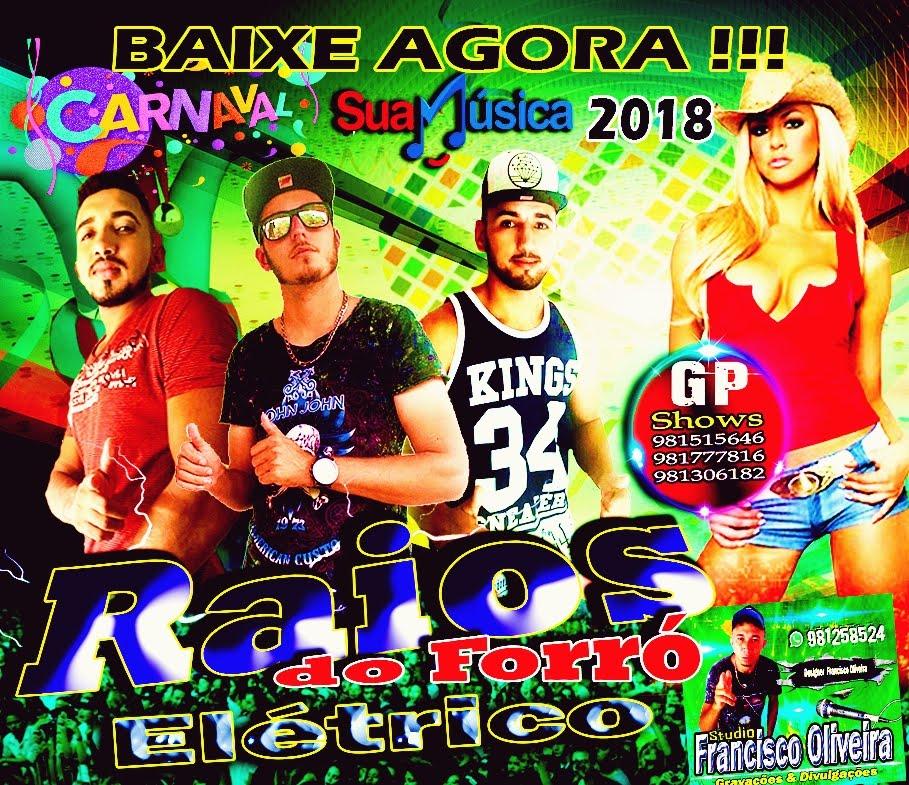 CD RAIOS DO FORRÓ ELÉTRICO