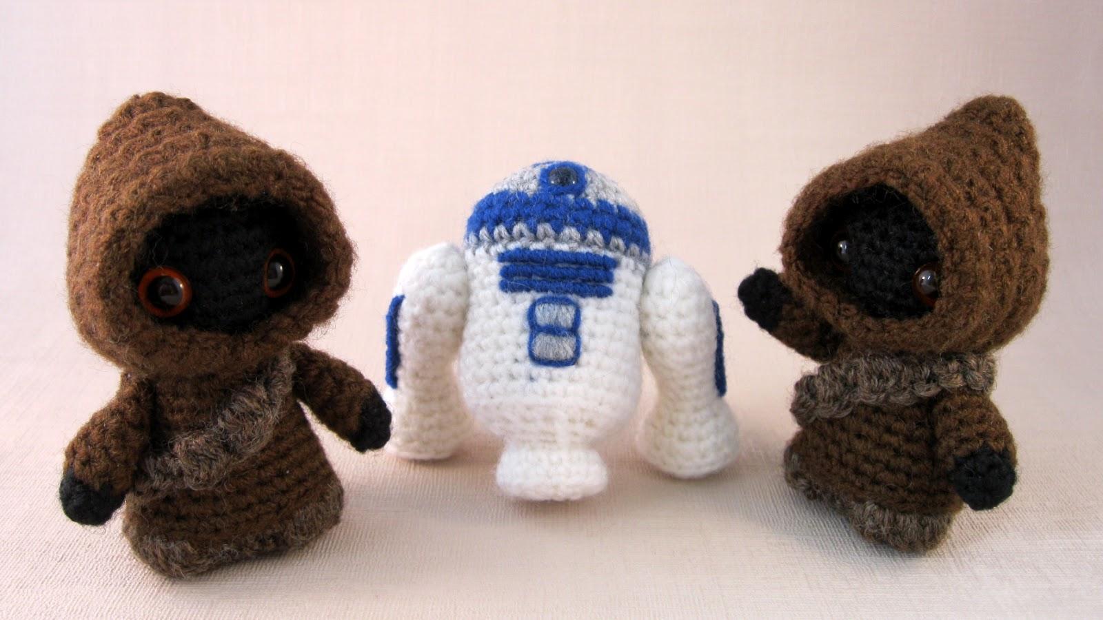 Geek Amigurumi Pattern : Lucyravenscar crochet creatures utini it s a new jawa pattern