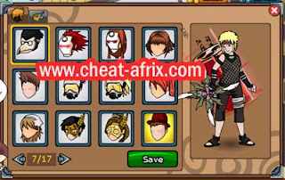 Cheat Hair Style Ninja Saga New Fix 100% Work