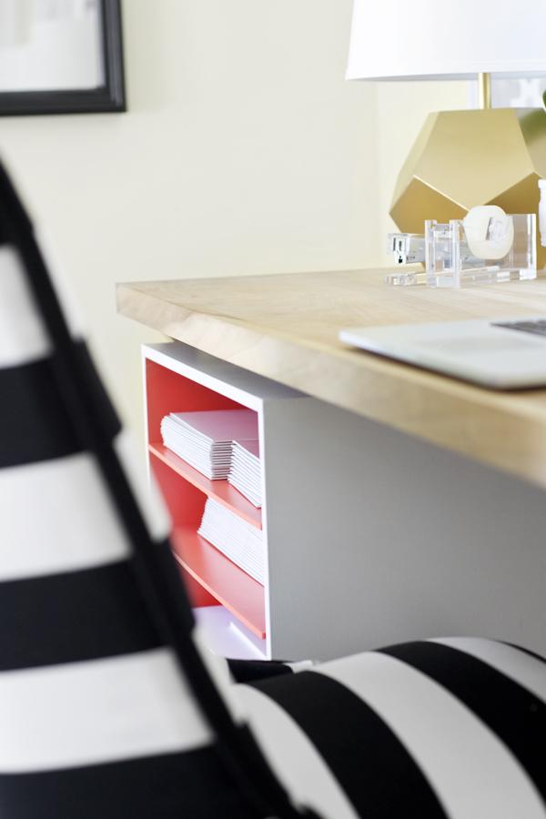 office organization rolling shelf