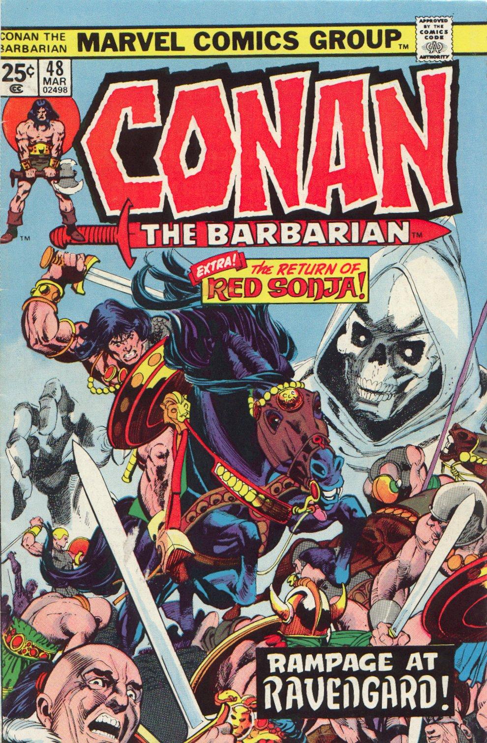 Conan the Barbarian (1970) 48 Page 1