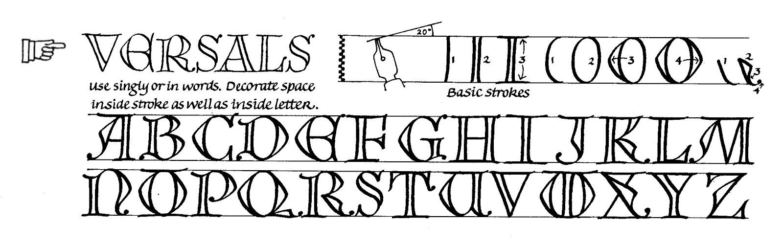 Margaret Shepherd: Calligraphy Blog: 99 Versals