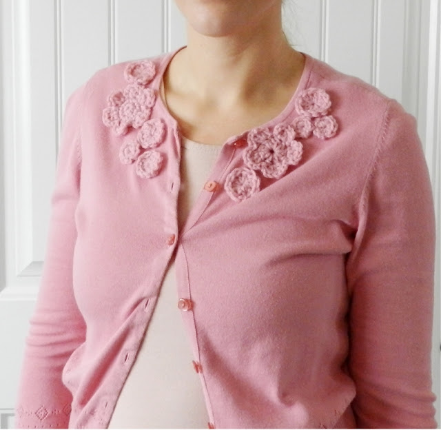 Crochet Flower Cardigan