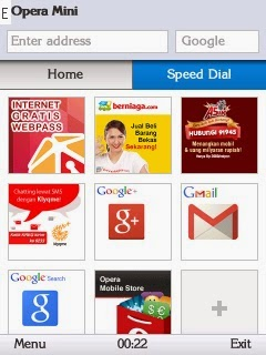 Opera Mini Grid View For Nokia S40