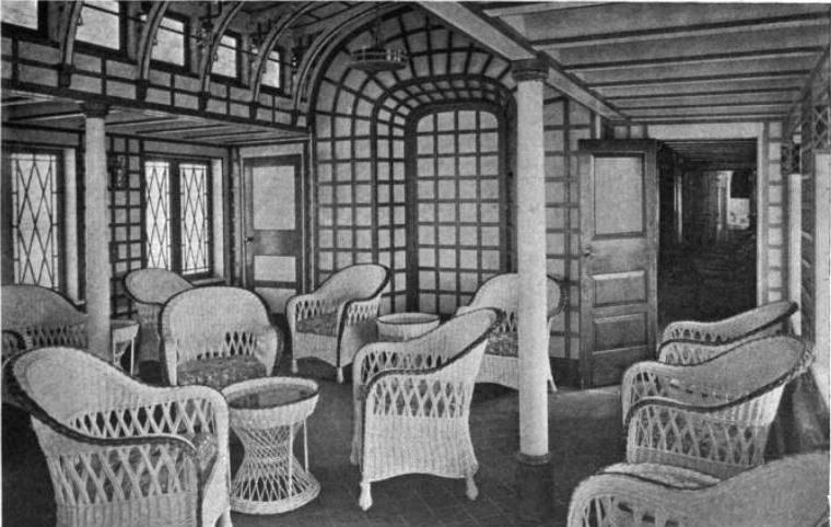 Café Veranda en 1920