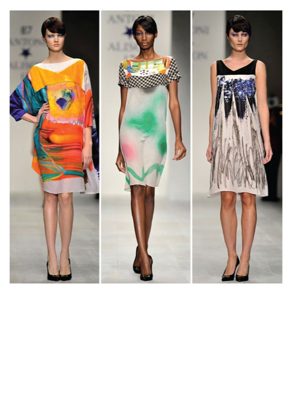 paint trend fashion brushstroke