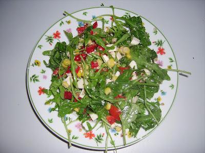 ruccola salat