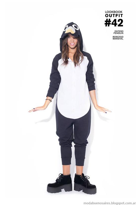 Pijamas de animales 47 Street otoño invierno 2014.