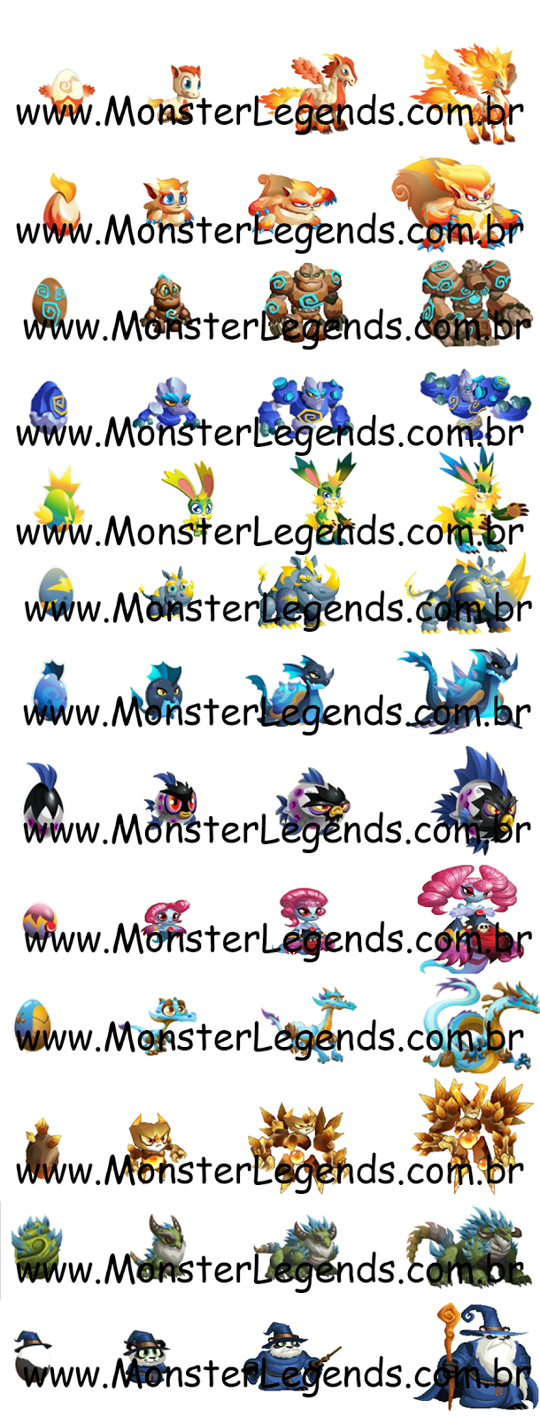 Evolution Epic Monster Legends